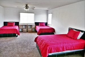 Drug and Alcohol Treatment Facility - Bedroom