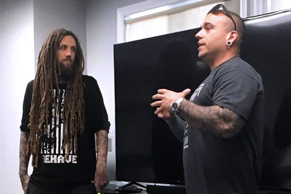 Brian Welch and Ronn Honn